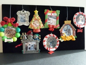 Ornaments of Christmas' past