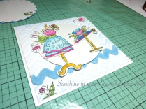 Fussy Cutting, & general layout