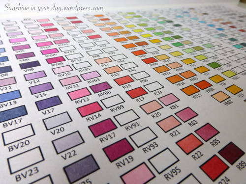 Organize Your Space Copic Markers Sunshine In Your Day