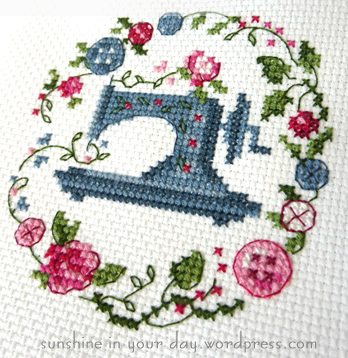 machine cross stitch