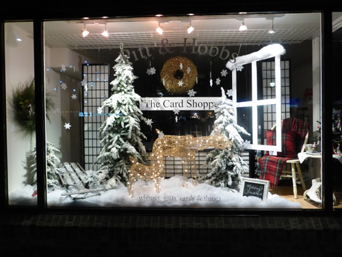 Christmas Window Displays.Christmas Window Display For 2015 Sunshine In Your Day